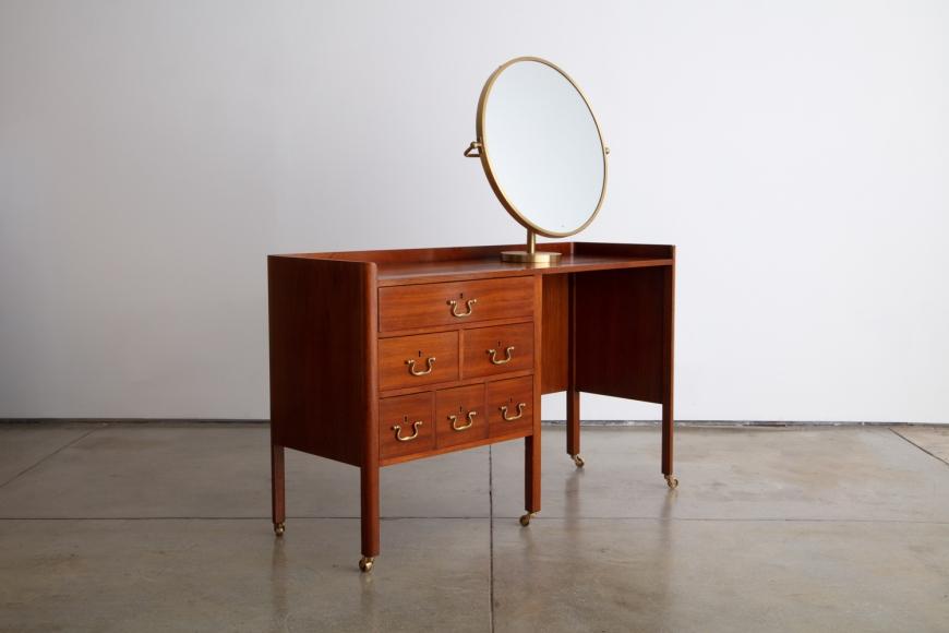 Joseph Frank Vanity Table and Mirror