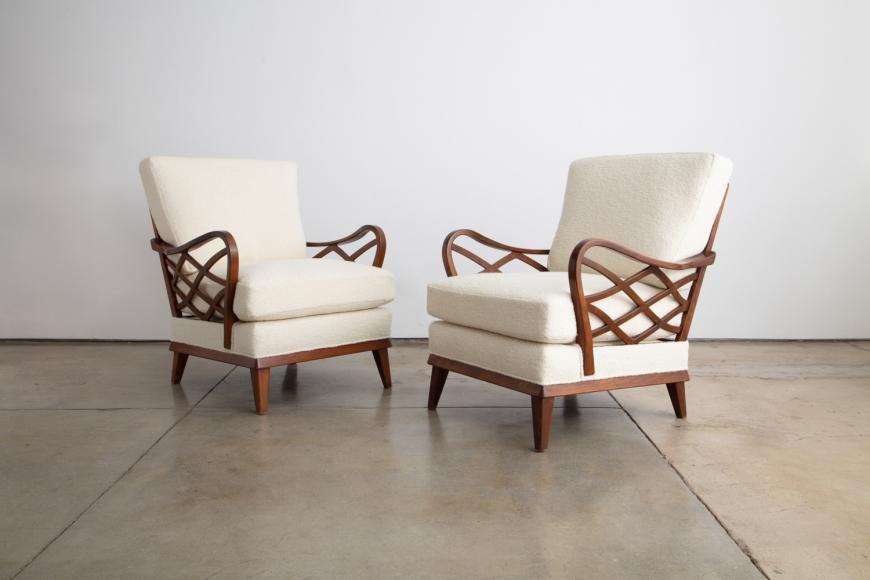 Pair of Swedish Lounge Chairs