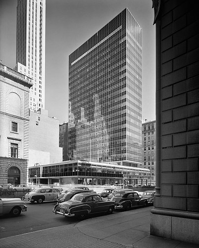 Selected Works Buildings Of New York Ezra Stoller Exhibitions