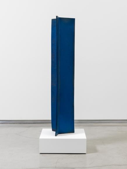 John Mason Vertical Intersection, Blue, 1997