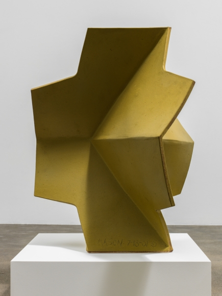 John Mason Folded Cross, Yellow-Gold, 2002