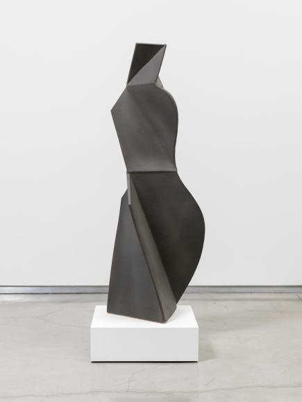 John Mason Charcoal Figure, 2002