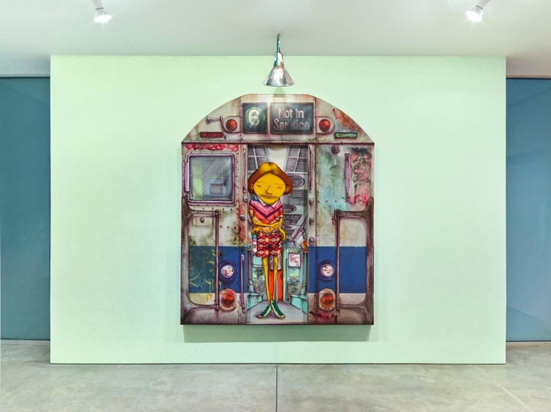 OSGEMEOS, Silence of the Music installation view 8