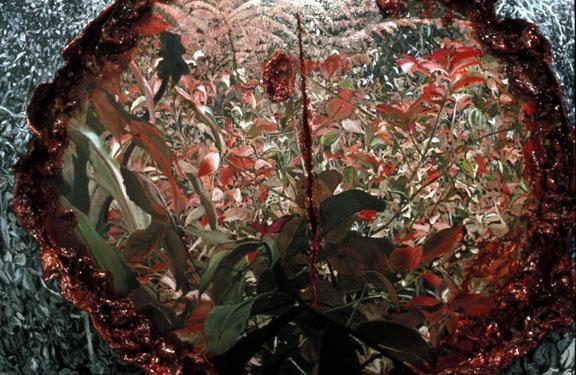 ADRIANA VAREJAO Paisagem Canibal (Cannibal Landscape) (detail), 2003