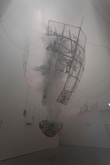 Aubade III (detail), 2014. Commissioned by National Museum of Modern and Contemporary Art, Korea. Sponsored by Hyundai Motor Company., 	© Lee Bul. Photo: Jeon Byung-cheol. Courtesy: National Museum of Modern and Contemporary Art, Koreal.