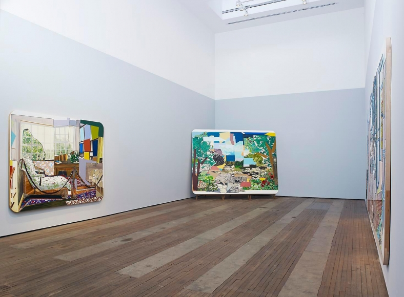 MICKALENE THOMAS: How to Organize a Room Around a Striking Piece of Art Installation view 1