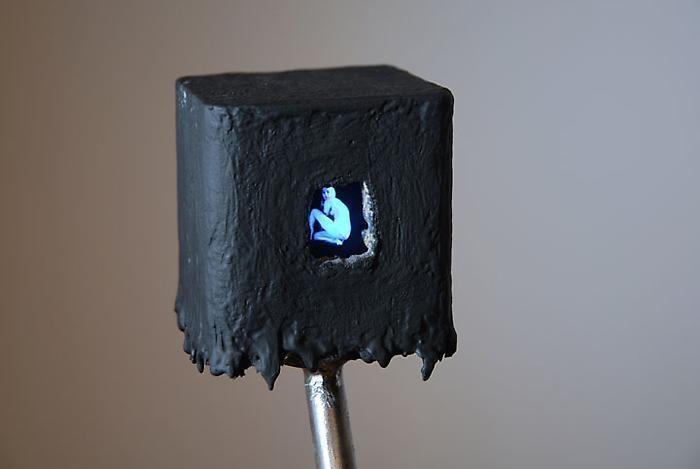 TONY OURSLER Black Box (detail), 2010