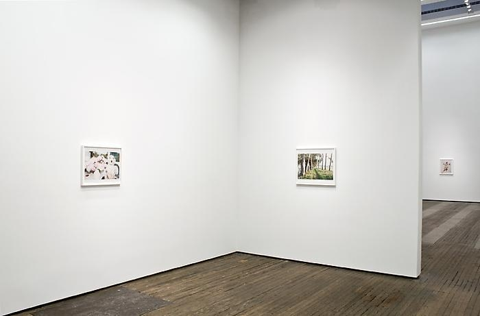 Installation view of Juergen Teller exhibition at Lehmann Maupin in New York in 2012, view 2