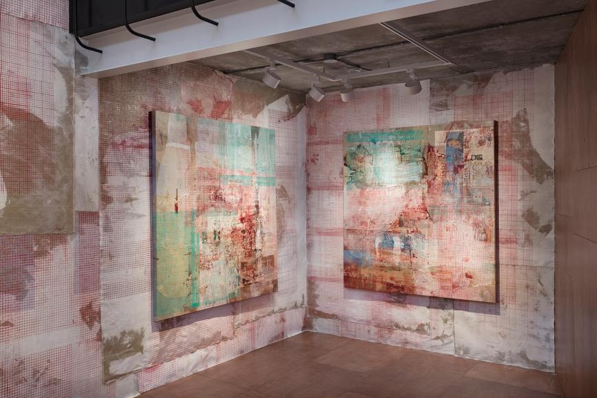 Mandy El-Sayegh:Protective Inscriptions, Installation view, Seoul