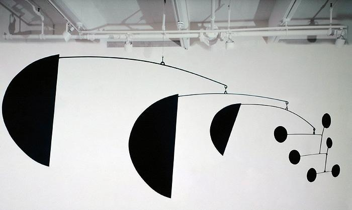 Alexander Calder Three Segments, 1972