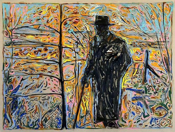 BILLY CHILDISH Sibelius Amongst Saplings, 2011