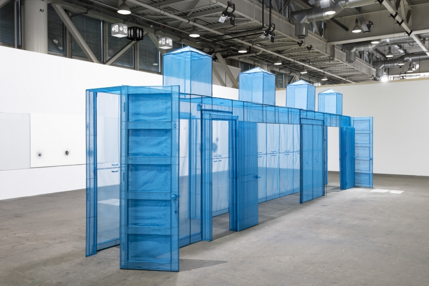 Do Ho Suh artwork in Art Basel Unlimited sector, perspective 3