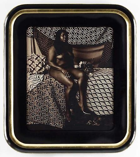MICKALENE THOMAS Courbet 1 (Melody: Sitting), 2011