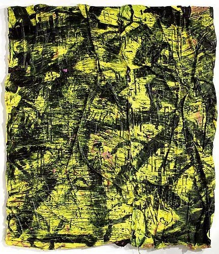 ANGEL OTERO He Prefers Himself to Everyone Else Because Everyone Else Abandons Him II (Yellow and Black), 2010