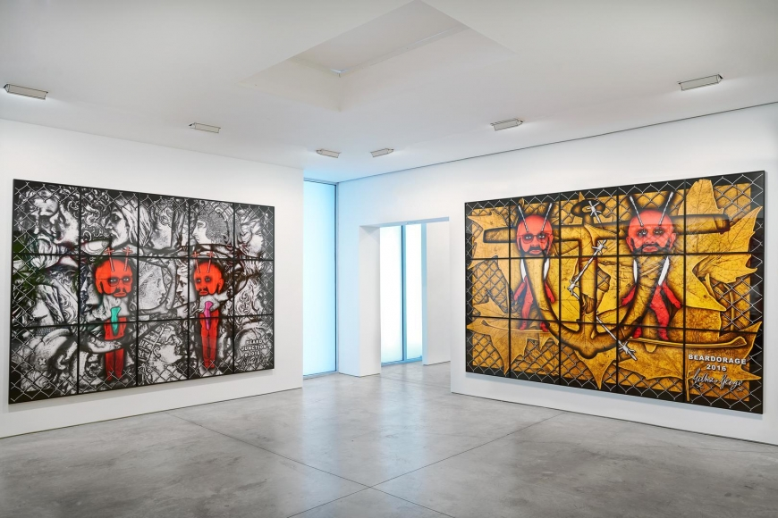GILBERT & GEORGE, THE BEARD PICTURES