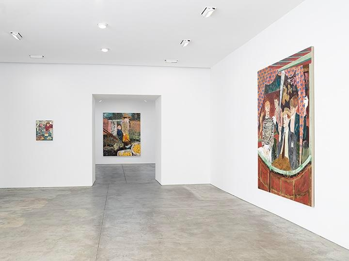Hernan Bas, Bright Young Things Installation view 1