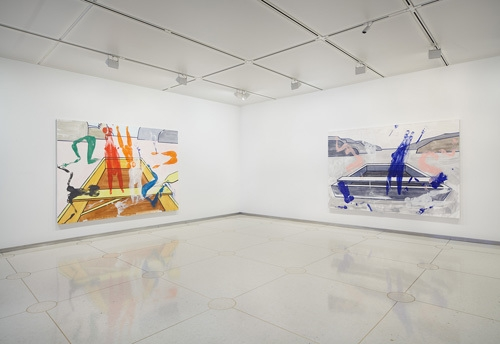 David Salle, Ariel and Other Spirits