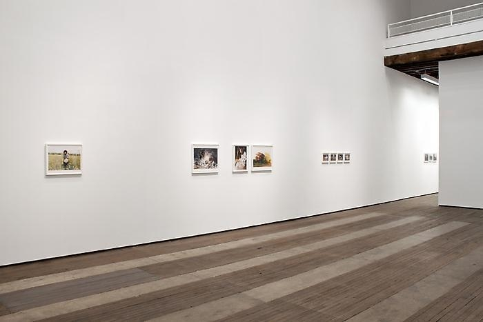 Installation view of Juergen Teller exhibition at Lehmann Maupin in New York in 2012, view 3
