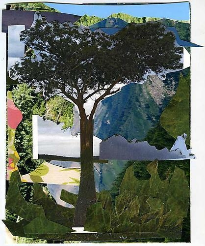 MICKALENE THOMAS Landscape with Tree, 2011