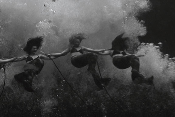 赫爾南·å·´æ–¯ Ocean's Symphony (Dirge for the Fiji Mermaid), 2007 (video still)