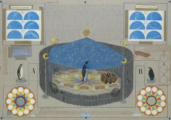 派崔克‧范‧凱肯柏 Project for Orientation-game, Project for a planetarium, 1992