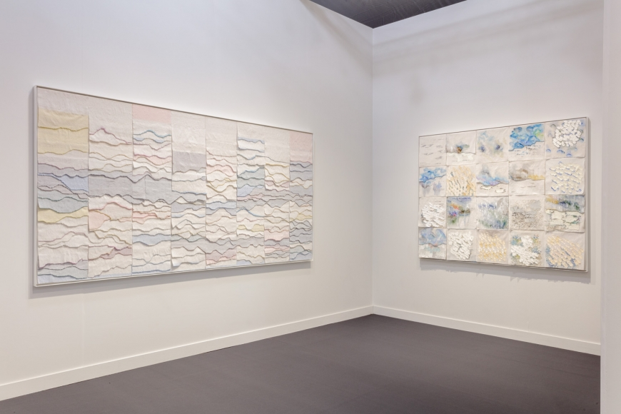 Lehmann Maupin's art fair booth at Frieze Los Angeles 2020 view 5