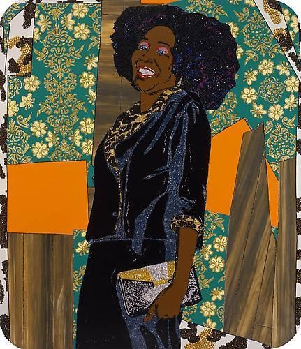 MICKALENE THOMAS Mama Bush: (Your love keeps lifting me) higher and higher, 2009