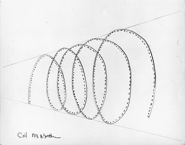 ROBERT SMITHSON Coil, 1973