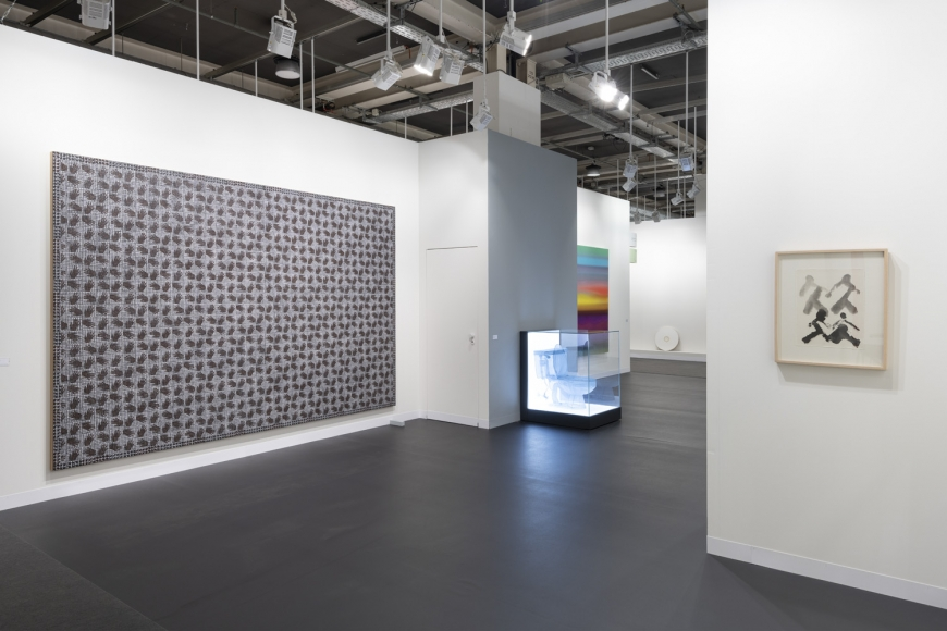 Lehmann Maupin Art Basel 2019 booth, installation view, perspective 5