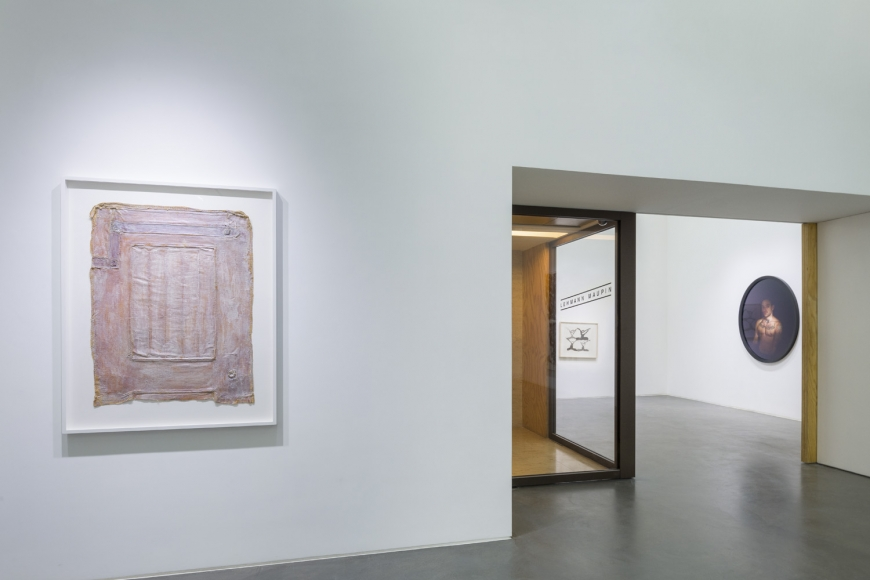 Seventh installation view of the group exhibition be/longing at Lehmann Maupin Hong Kong