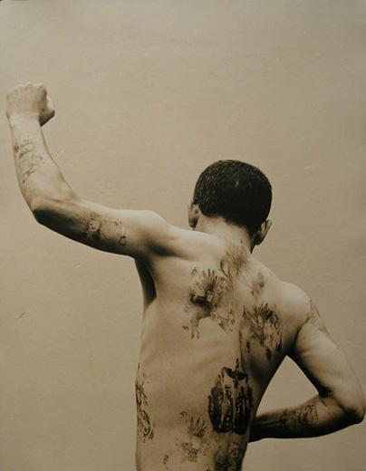Body Sign #4, 2001