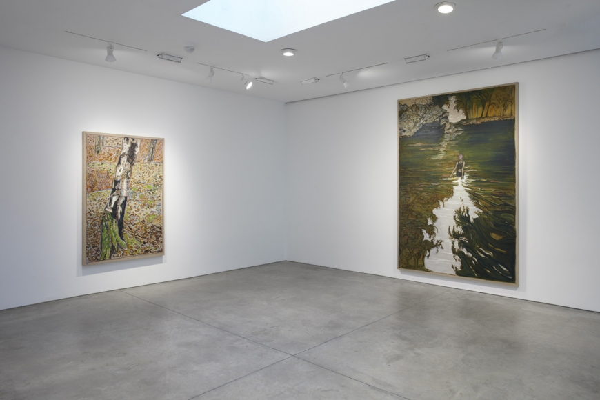 BILLY CHILDISH: remember all the / high and exalted things / remember all the low / and broken things, Installation view, Lehmann Maupin, New York