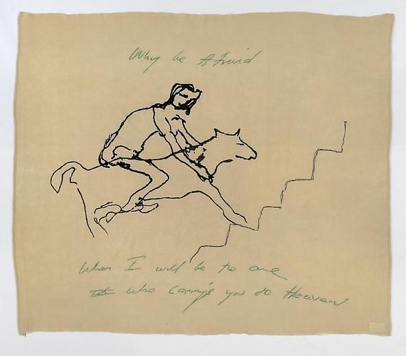 TRACEY EMIN Why Be Afraid, 2009