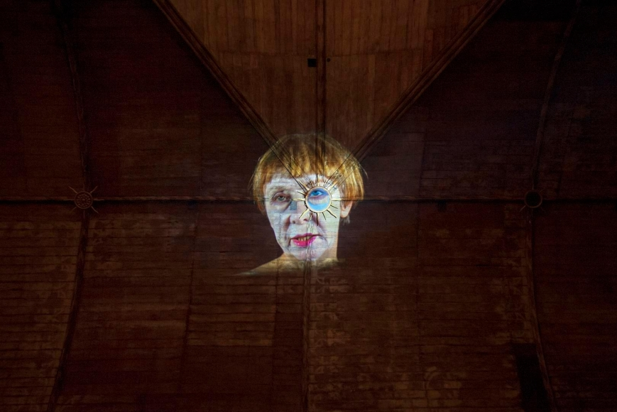 Tony Oursler: I/O underflow