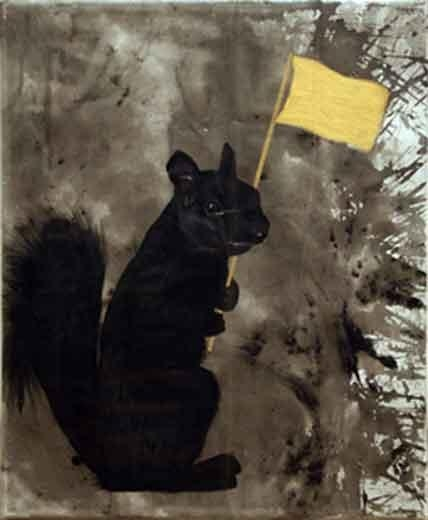 Black Squirrel Society Small, 2008
