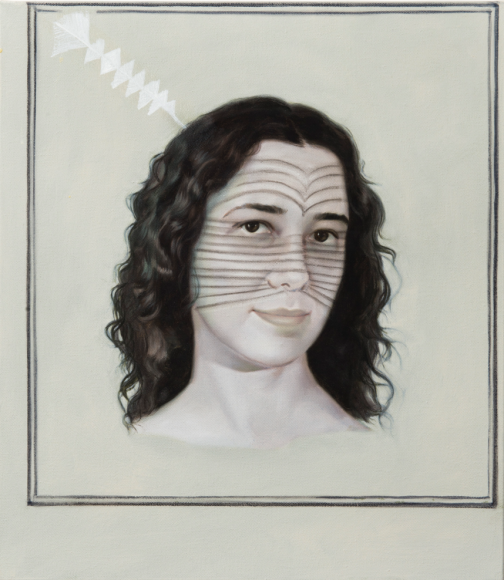 ADRIANA VAREJÃO Kindred Spirits (detail), 2015