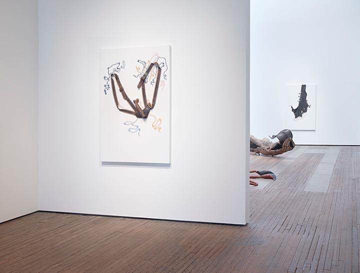 Nicholas Hlobo installation view 1