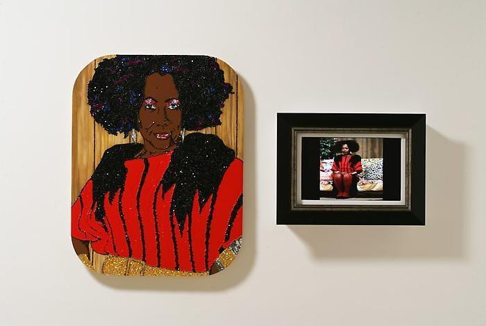 MICKALENE THOMAS Ain't I a woman (Sandra), 2009