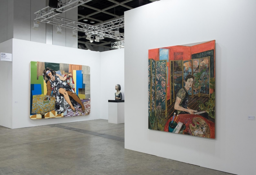 Installation view, Booth 1C08, Art Basel Hong Kong 2015