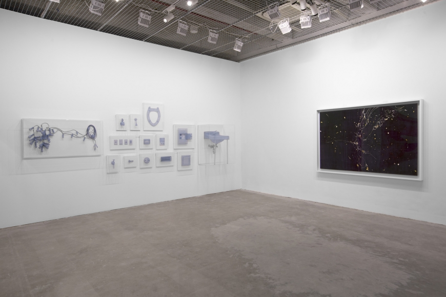 View of Lehmann Maupin's art fair booth at West Bund Art & Design 2018, perspective 4