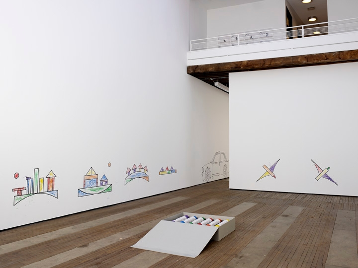 ROBIN RHODE: Paries Pictus Installation view 1
