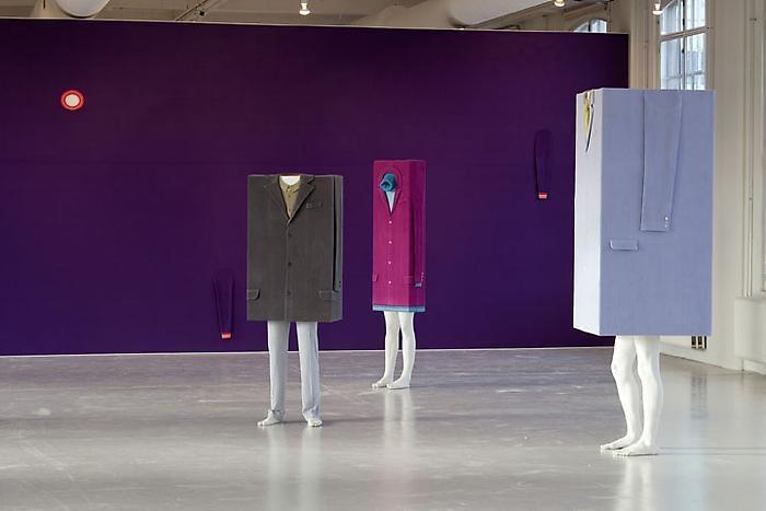 ERWIN WURM Installation view Kunsthallen Brandts