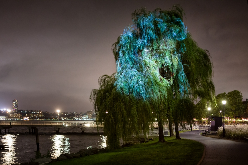 TONY OURSLER Tear of the Cloud, 2018