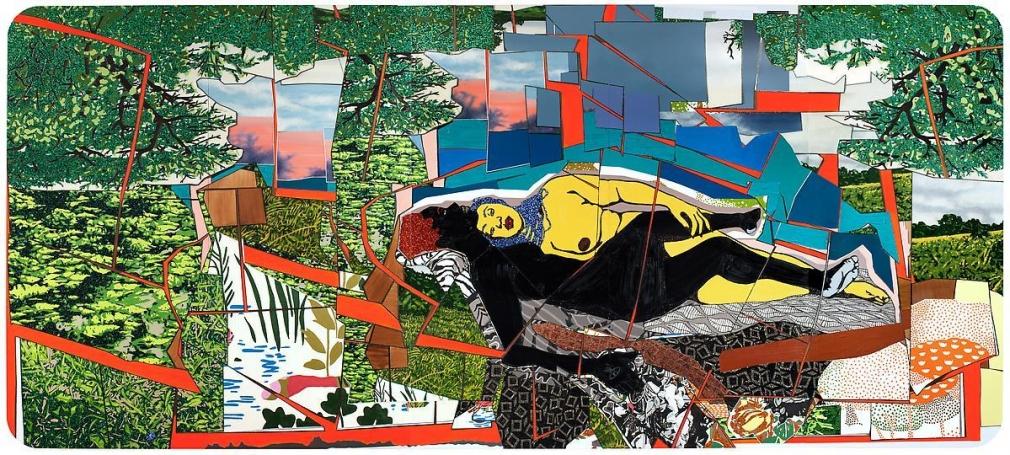 米卡琳·æ¹¯é¦¬æ–¯ Sleep: Deux Femmes Noires, 2012