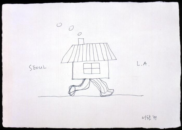 Seoul Home/L.A. Home, 1999