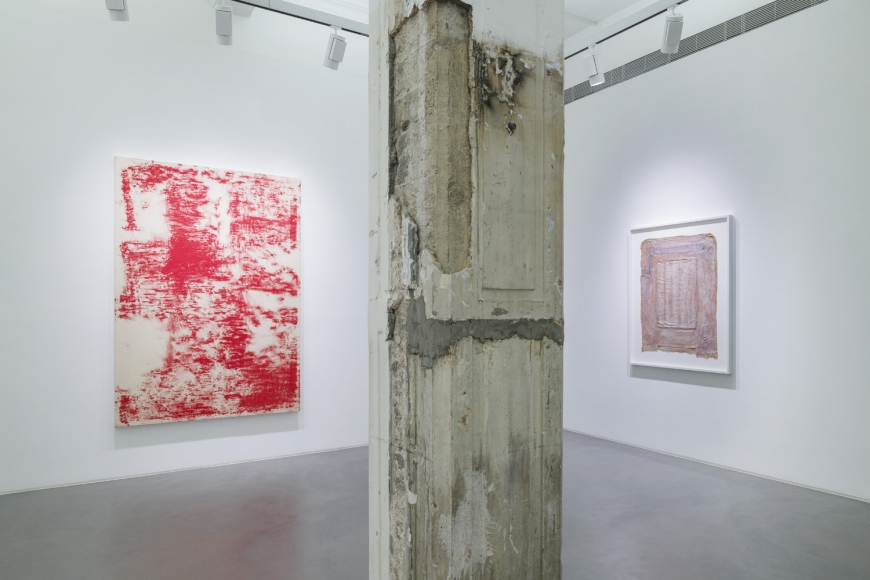 Fifth installation view of the group exhibition be/longing at Lehmann Maupin Hong Kong