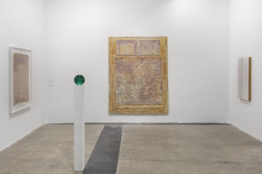 Installation view of Lehmann Maupin's booth at West Bund Art & Design 2019 in Shanghai, view 5