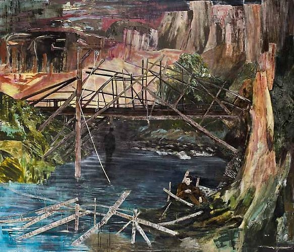 HERNAN BAS A Devil's Bridge, 2011-2012