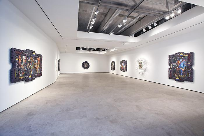 ASHLEY BICKERTON Nocturnes Installation View 1