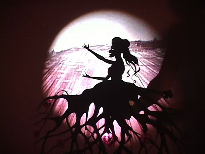 KARA WALKER Fall Frum Grace, Miss Pipi's Blue Tale (film still),  2011